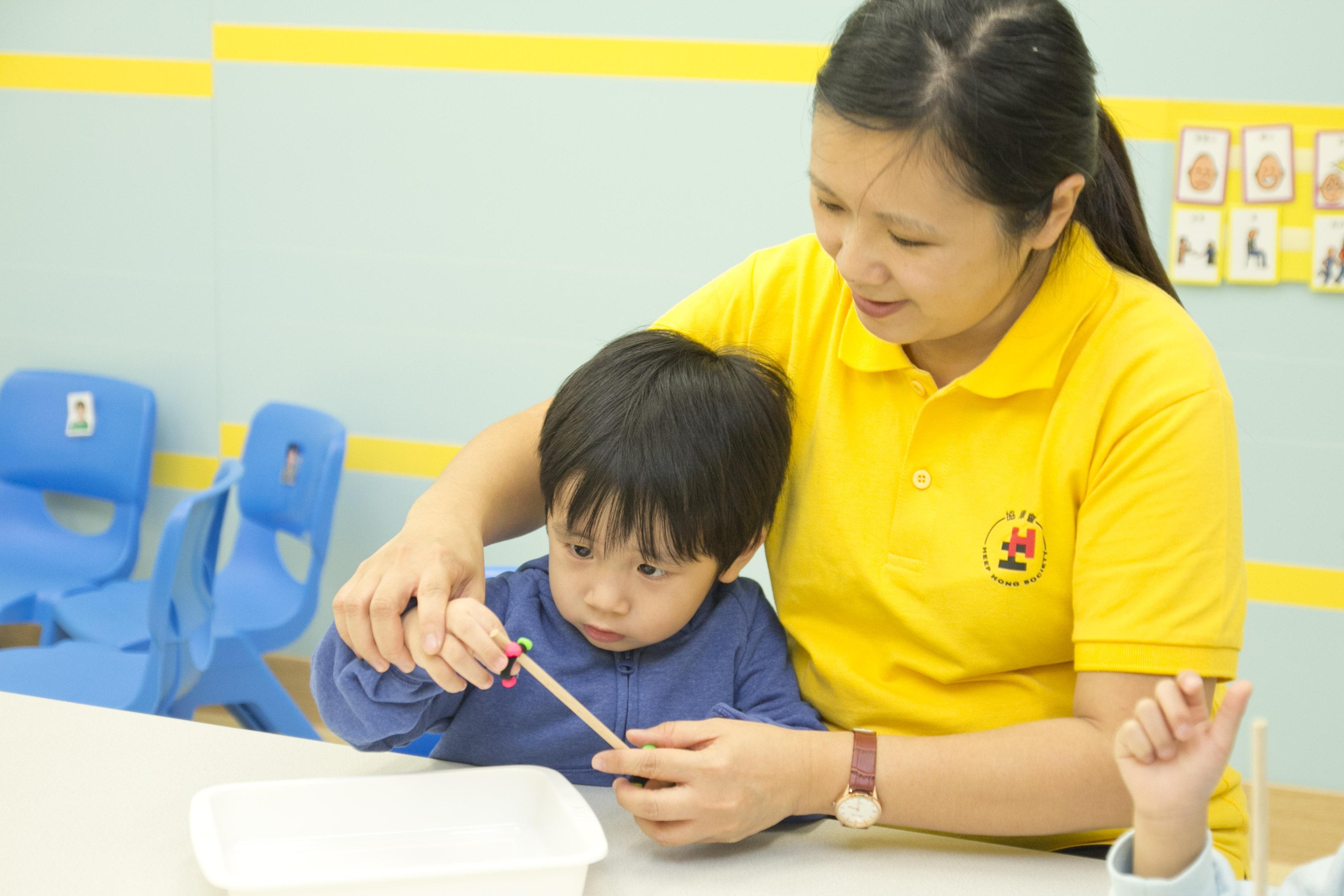為學前兒童提供專業的個別及小組訓練。