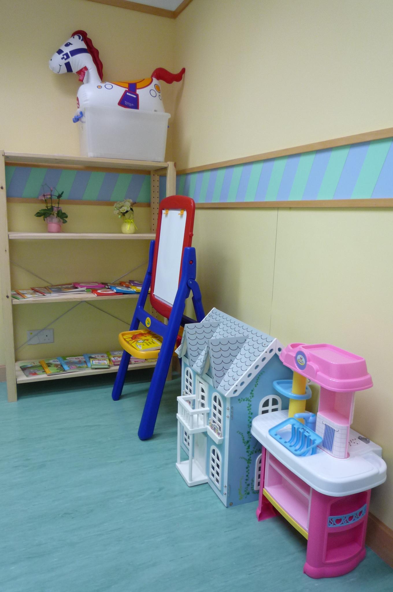 心理學家玩具閣:供心理學家與兒童面談時使用
