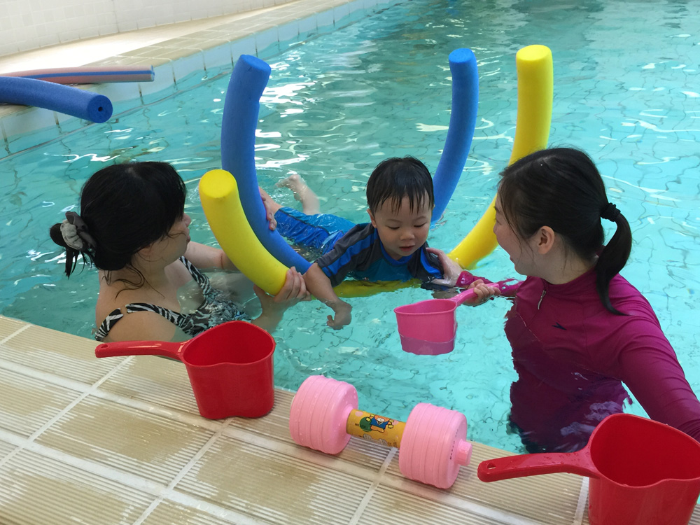 Hydrotherapy is offered to children in the first indoor hydrotherapy pool of Heep Hong Society.