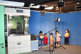 The Audio-visual Room serves to enhance children's learning motivation with the aid of advanced equipment.