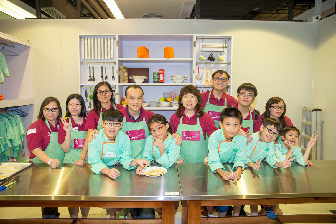 Children from Fanling Parents Resource Centre visited Dream Come True with Dah Sing's volunteers