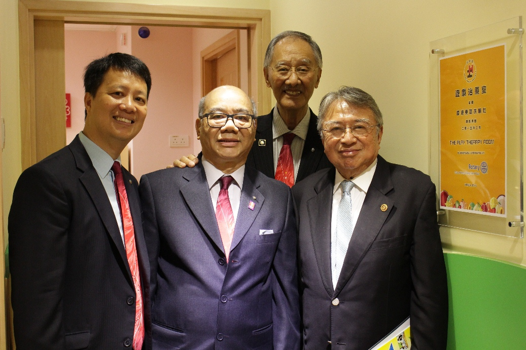 Rotary Club of Hong Kong Island East Sponsored Yau Lai Centre Play Therapy Room