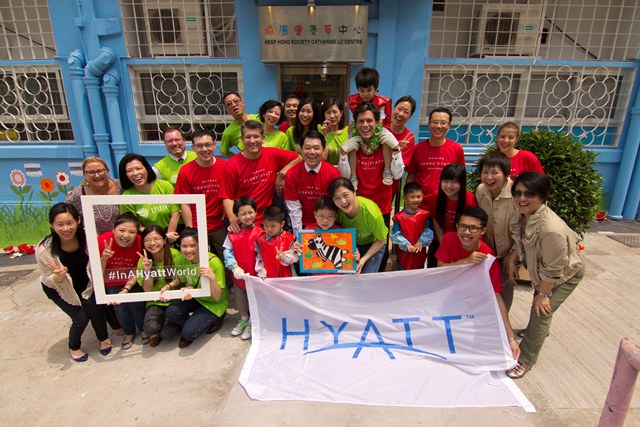 Hyatt Corporation Supported Mural Painting at Catherine Lo Centre